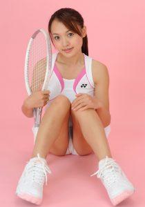 Stunning Tennis Teen