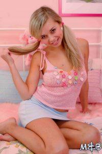 Sweet Teen In Pink
